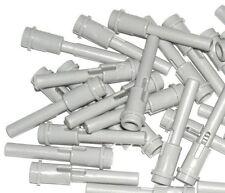 LEGO 20 Light Bluish Gray Technic Pins 1/2 2L Bar Extension Flick Missiles 44022