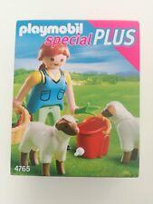 Playmobil 4765 - Farmer with sheep / Bäuerin bei Schäfchen (MISB, NRFP, OVP)