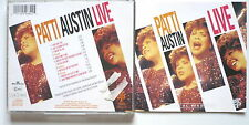 PATTI AUSTIN - Live - CD