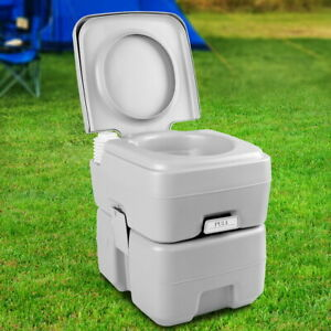 Weisshorn 20L Detachable Holding Tank Portable Outdoor Camping Hiking Toilet