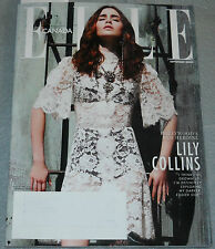 Elle Canada Magazine No 147 September 2013 Lily Collins Chloe Sevigny