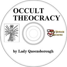 Occult Theocracy Vintage Book on CD