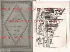 COSTUME ANTICO MODERNO AFRICA 27 EGITTO LIBIA CARTAGINE ANNIBALE INCISIONE 1830