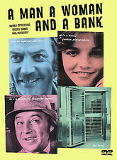 Anchor Bay DVD A Man a Woman and a Bank Donald Sutherland Brooke Adams w/ insert