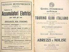 ABRUZZO MOLISE GUIDA TOURING CLUB ITALIANO