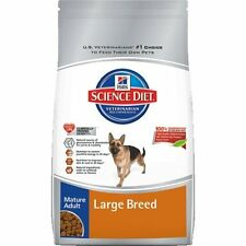 Hill`s Science Diet Mature Adult Large Breed Dry Dog Food Bag, 33-Pound, Large ,