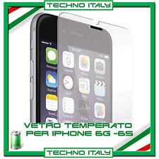 PELLICOLA PROTETTIVA VETRO TEMPERATO per APPLE IPHONE 6 e 6S PROTEZIONE SCHERMO