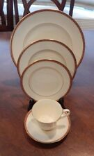 """MINTON """"CARLTON"""" PATTERN 5 PIECE PLACE SETTING (S) MADE IN ENGLAND"""