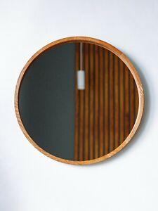 Wall-Mounted Mirror Circle Mirror Round Mirror Bedroom Bathroom ( 20Inch)