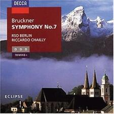 Bruckner: Symphony No. 7 by Chailly (CD, 1996, Decca) (cd7584)