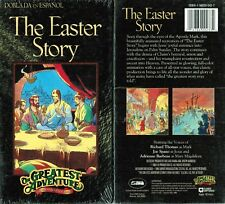 Greatest Adventure of the Bible Easter Story VHS Video Tape Nw Dubbed in Spanish