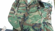 Pants Shirt Set Military BDU Cargo Trousers Woodland Camo Genuine Surplus SiZE