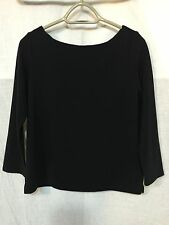FABULOUS RIB KNIT BACK ZIP TUNIC TOP by OLD NAVY size S Petite