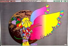 MOONLANDING #4 - PETER MAX PSYCHEDELIC POSTER 1969 -CLASSIC LARGE ORIGINAL RARE
