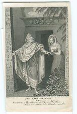 Antigua ORIG. presión, la flauta mágica, Sarastro, h. Ramberg siglo 19. #h612
