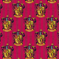 Camelot Fabric Harry Potter Gryffindor House PER METRE Digitally Printed License