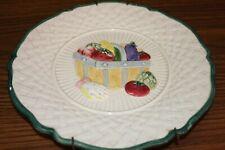 Fitz & Floyd Omnibus 1995 Garden Vegetable Plate With Hanger