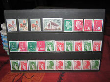 TIMBRES LOT NEUF N° ROUGE AU VERSO