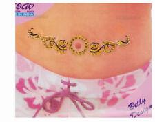 Bindi bijou de peau strass tatoo pour nombril Inde mariage oriental B505