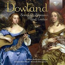 Dowland: Songs For Soprano And Guitar, Siphiwe McKenzie, Riccardo Bini, CD | 502