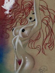 Jessica Rabbit : Original Art by Shelton Bryant
