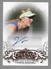 VICTORIA AZARENKA 2015 Leaf Legends Of Sport AUTOGRAPH Tennis Player
