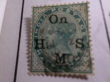 INDE ANGLAISE, timbre de SERVICE 30 oblitéré, VF used stamp