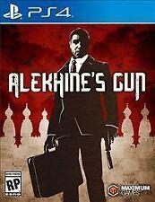 Brand New & Sealed PS4 Game: Alekhine's Gun (Sony PlayStation 4, 2016)