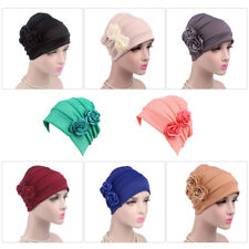 Flower Women Turban Hat Lady Cancer Chemo Hair Loss Cap Head Scarf Wrap Cover