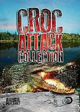 ANIMAL PLANET    Croc Attack Collection (DVD, 2014)  Crocodile  BRAND NEW
