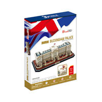 World's Great Architecture Buckingham Palace 72 Piece 3D Model DIY Hobby Kit