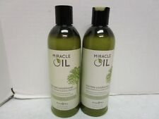 2 EARTHLY BODY MIRACLE OIL TEA TREE CONDITIONER 16 FL OZ EACH MM 10144