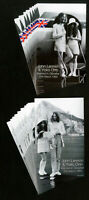 Gibraltar Stamps # 805-6 XF 10 sets of John Lennon s/s Scott Value $130.00