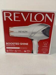 Revlon Boosted Shine 1875 Watt Infrared Hair Dryer White