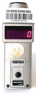 Shimpo DT-207B Handheld Tachometer Digital