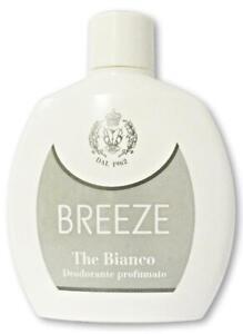 Breeze Thé Blanc Déodorant Spray Squeeze Ml. 100 Expédition Suivie