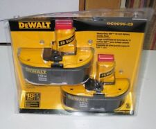 Genuine DEWALT 18-Volt Heavy Duty XRP Battery Combo Pack DC9096-2S - Sealed NEW