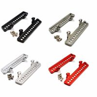 Aluminum Upgrade metal Side Pedal Plate For WPL C14 C24 Off-road 1:16 Rc Car