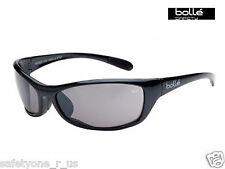 Bolle Safety Glasses - Raptor - Dark Gun Metal - Silver Flash Lens