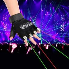 LED Laser Glove - Green Light Right Hand Only (SHIPS FROM USA)