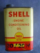 Ancien Bidon Shell Engine Conditioning Oil