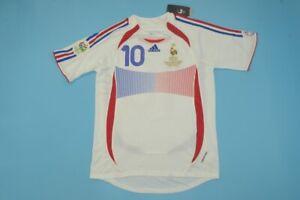 Maillot ZIDANE 10 - France 2006 Coupe du Monde - Taille L