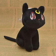1 Pcs Anime Sailor Moon Soft  Plush Doll Black Cat Luna Anime Cosplay Toy Gift