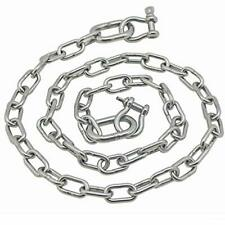 """Stainless Steel 316 Anchor Chain 5/16"""" x 5' with oversized end 3006.6581 Extreme"""