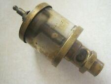 """Vintage Brass """" Essex Brass Corp. """" Hit Miss Gas Engine Oiler"""