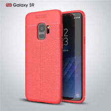 For Samsung Galaxy A8+ A6 2018 S9+ Slim Shockproof Rubber Bumper Skin Case Cover