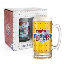 Cristalería jarras de cerveza de vidrio para cocina, comedor y bar