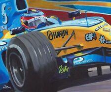 Print 2005 Renault R25 #5 Fernando Alonso (ESP) by Toon Nagtegaal (OE)