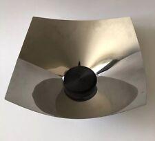 ALESSI  Mirror Stainless Steel LOBO COPPOLA Basket Bowl ITALY Modern MCM
