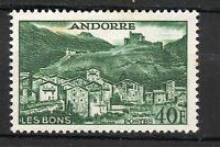 Andorra ( French Post ) : 1955 40 Francs ( Landscapes ) New ( MLH )